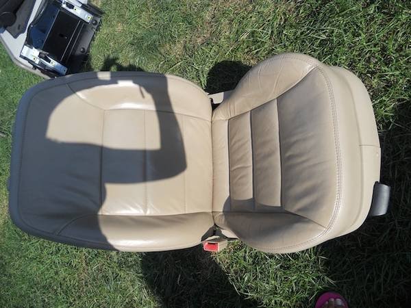 Beige leather seats for VW Jetta MKIV