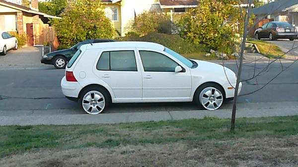 "2000 Golf w/ 17"" Delta X rims (factory installed w/ Beetle Turbo S)"