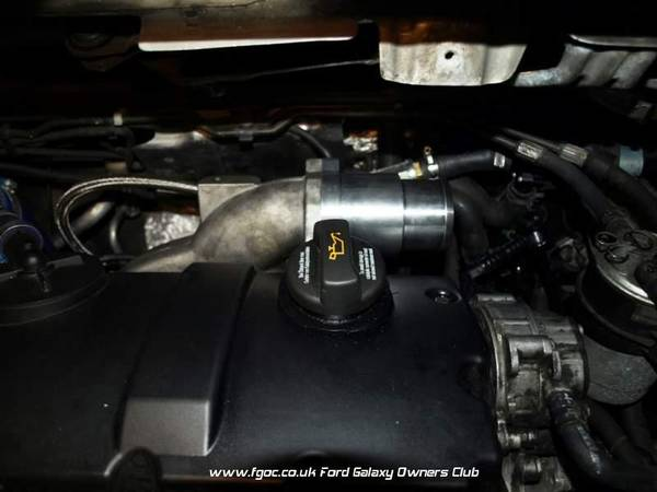EGR replacement pipe