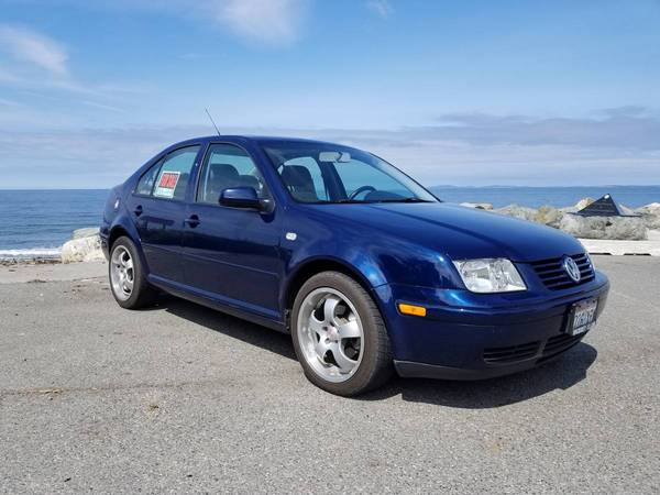 2018 purchase of 2001 Galaxy Blue Jetta