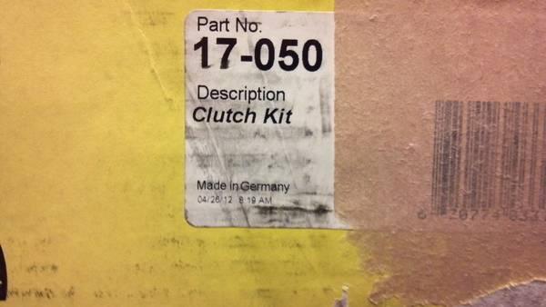 Clutch Set New  LuK  17-050