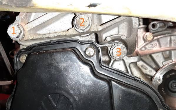 02J Transmission Bracket