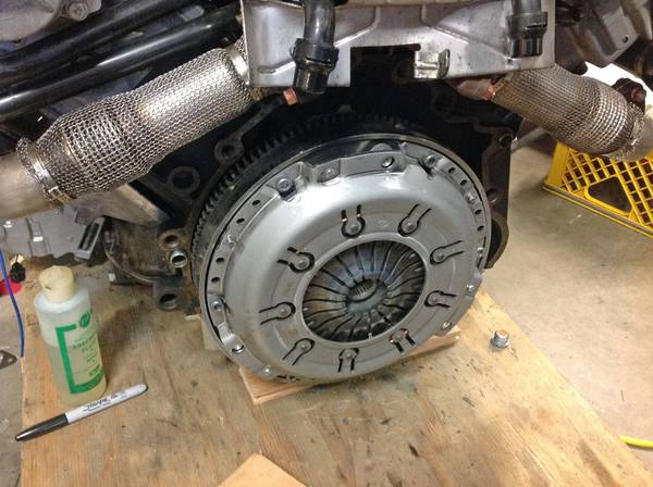 AFB clutch mounted