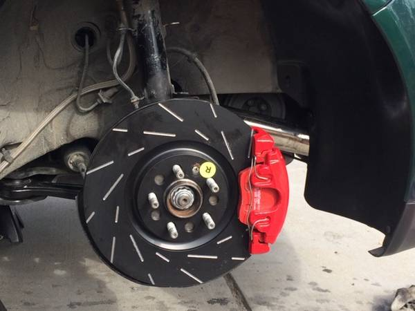Audi TT Front Brakes, Spindles, and Control Arms