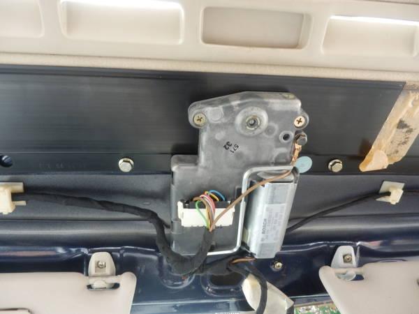 B4 Passat Interior Headliner Removed 2