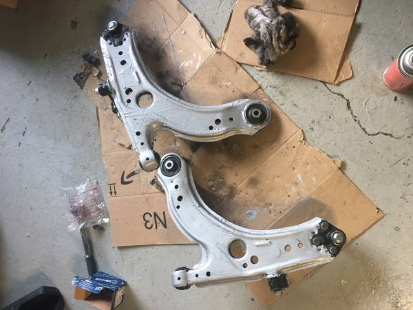 wagon upgrades - TT control arms
