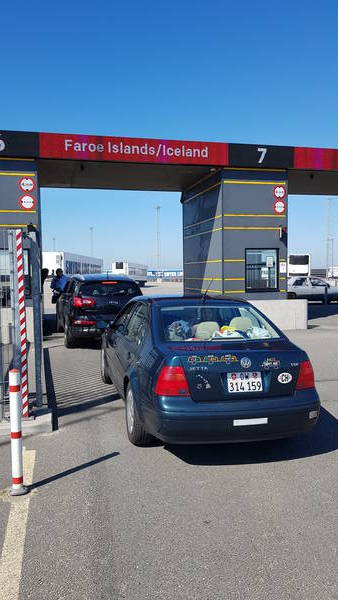 Ferry to Iceland