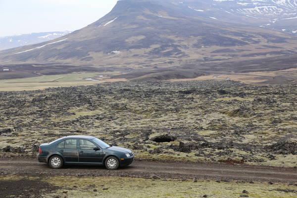 Iceland - lava fields