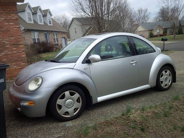 01 Silver Beetle TDI - Automatic