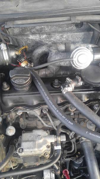 96 TDI air / oil separator 2
