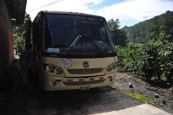 TDI tour bus