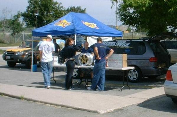 Vendors: Sunoco & Wheel Wax