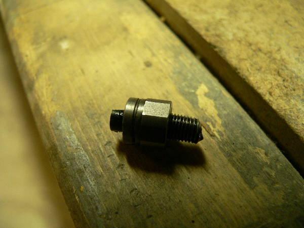 Broken piece from turbo