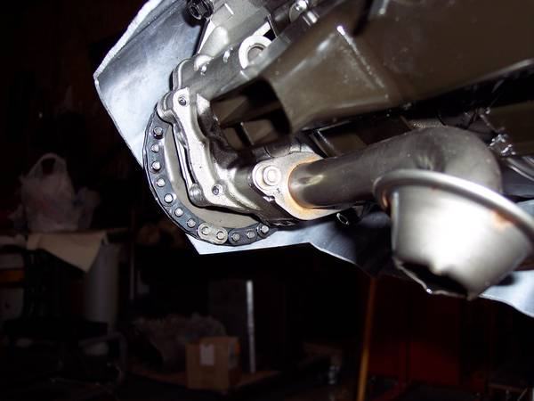 TDI oil pan for modification to fit Vanagon application