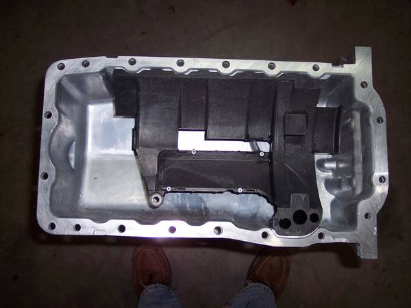 TDI ALH Oil Pan and Windage Tray