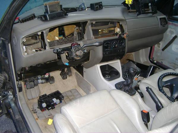 interior wiring deconstruction