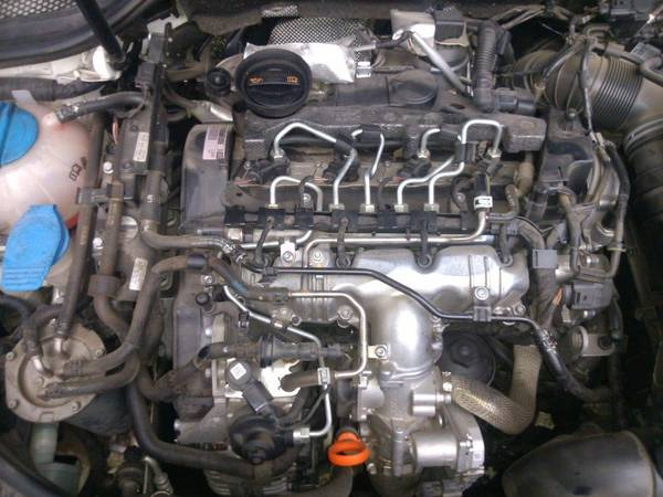 Audi A3 TDI 2011 fuel lines