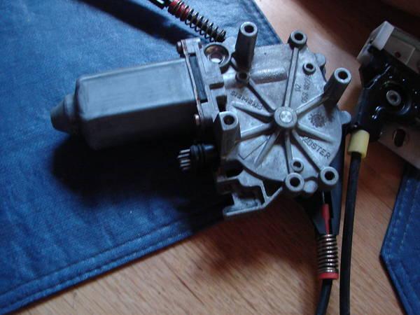 motor recieved for left rear
