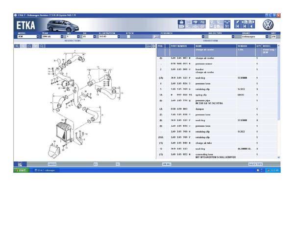 TDI Intercooler/Turbo Pipes (BEW)