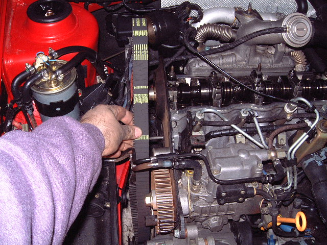 A3 Timing Belt Change